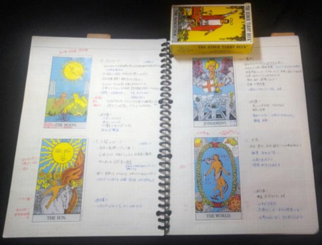 タロット勉強ノート